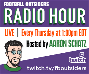 Football Outsiders Radio Hour banner
