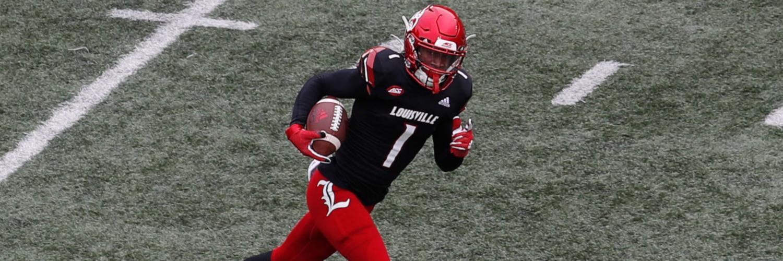 Louisville Cardinals WR Tutu Atwell