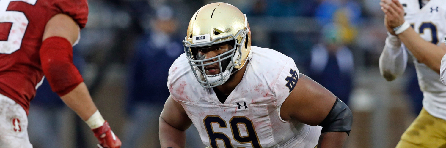 Notre Dame Fighting Irish OL Aaron Banks