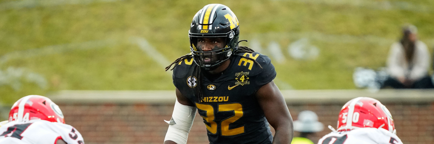 Missouri Tiger LB Nick Bolton