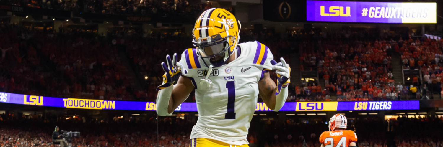 LSU Tigers WR Ja'Marr Chase
