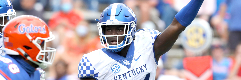 Kentucky Wildcats LB Jamin Davis