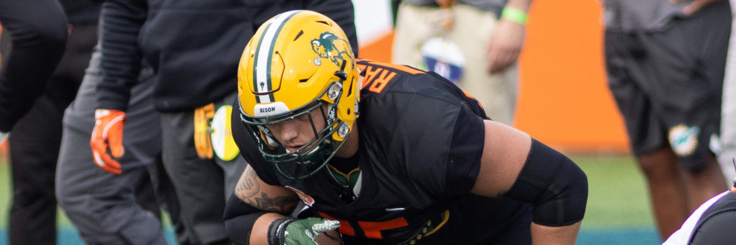 North Dakota State Bison OL Dillon Radunz