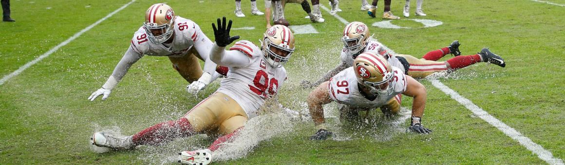San Francisco 49ers defenders