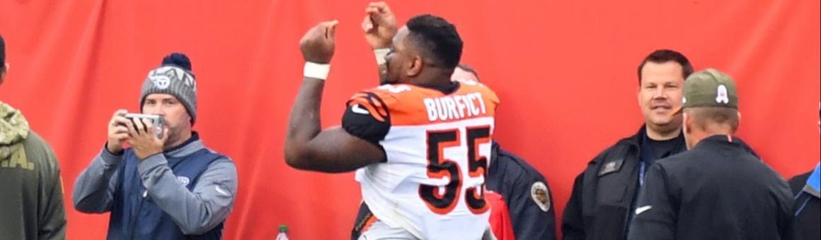 Cincinnati Bengals LB Vontaze Burfict