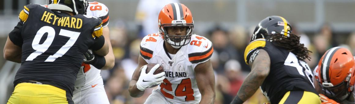 Cleveland Browns RB Nick Chubb
