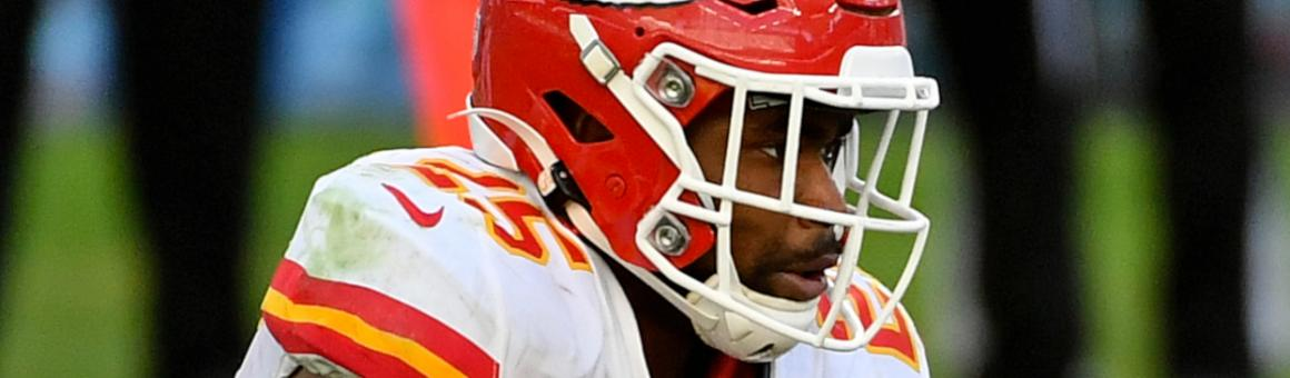 Kansas City Chiefs RB Clyde Edwards-Helaire