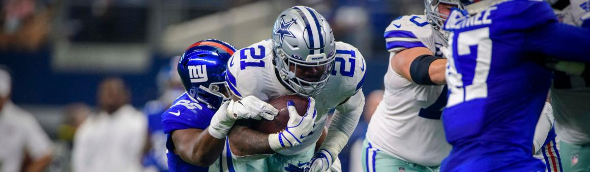 Dallas Cowboys RB Ezekiel Elliott
