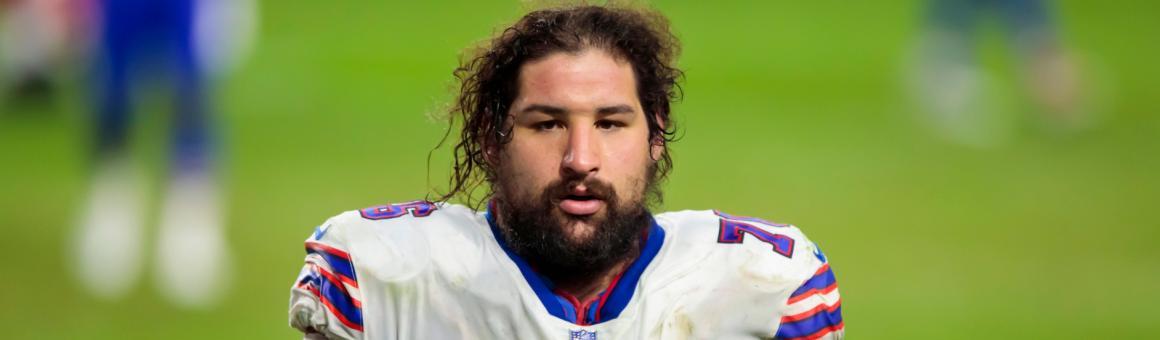 Buffalo Bills OL Jon Feliciano