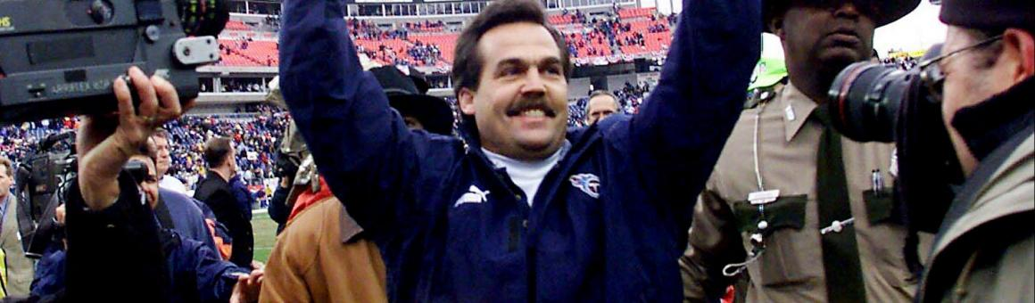 Tennessee Titans head coach Jeff Fisher
