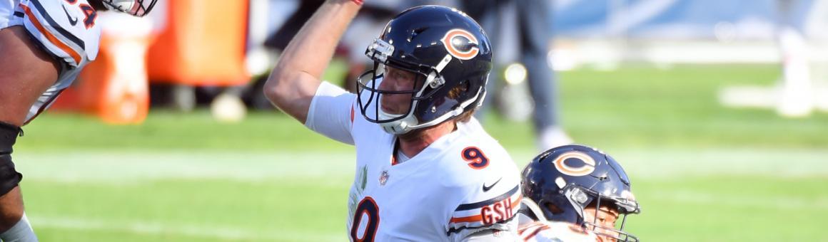 Chicago Bears QB Nick Foles