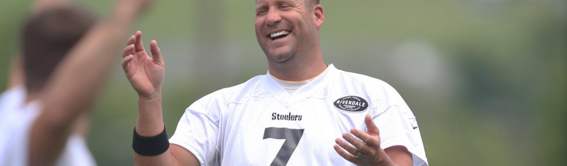 Happy Ben Roethlisberger