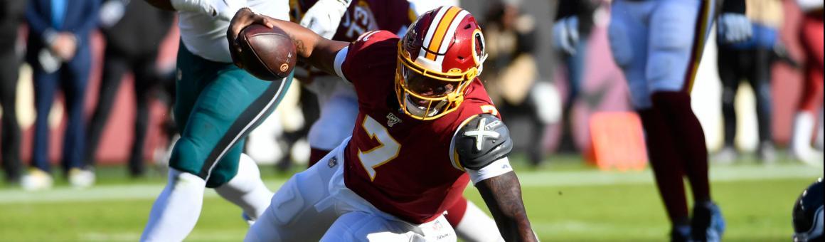 Washington Redskins QB Dwayne Haskins