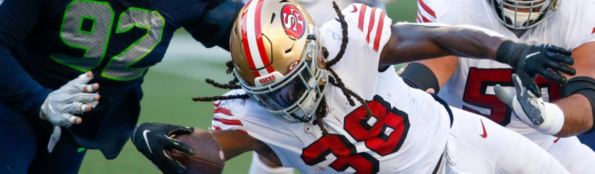 San Francisco 49rs RB JaMycal Hasty