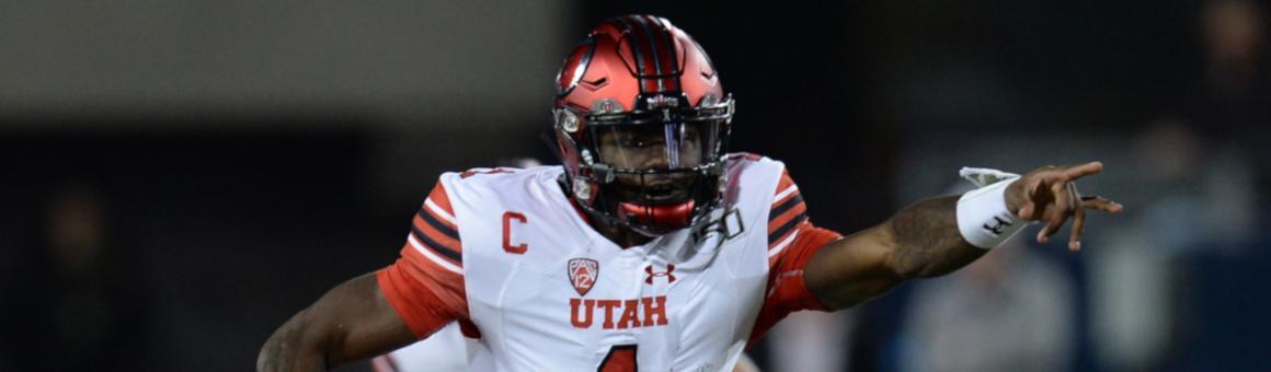 Utah Utes QB Tyler Huntley