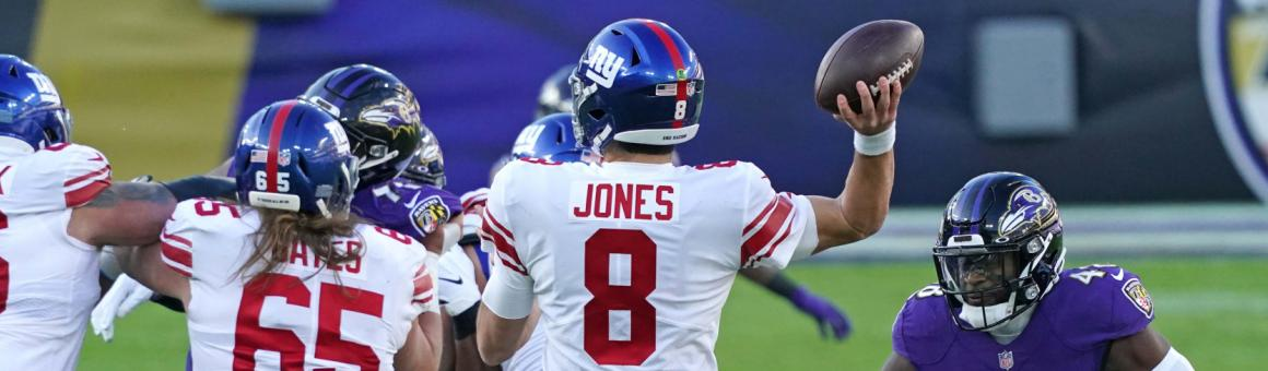 New York Giants QB Daniel Jones