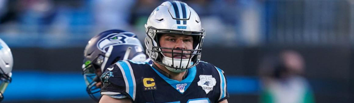 Carolina Panthers LB Luke Kuechly