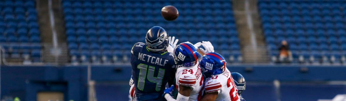 Seattle Seahawks WR DK Metcalf