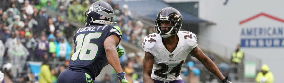 Baltimore Ravens CB Marcus Peters