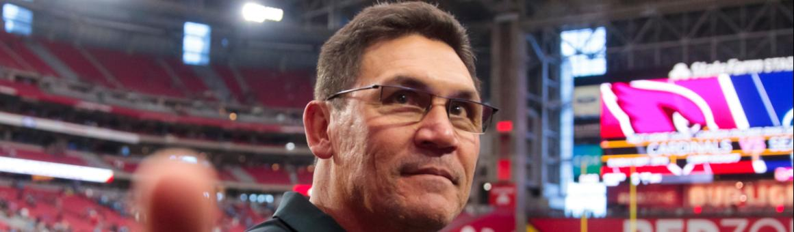 Ex-Carolina Panthers head coach Ron Rivera
