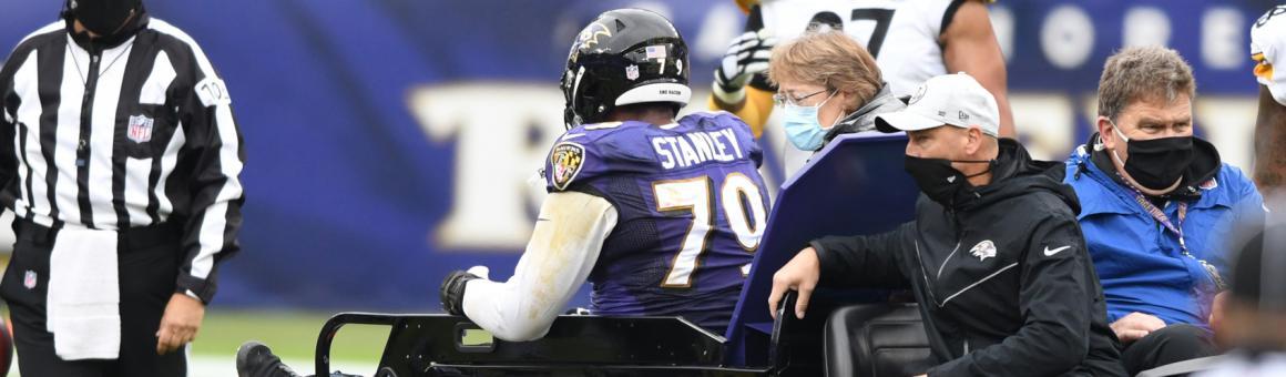 Baltimore Ravens OT Ronnie Stanley