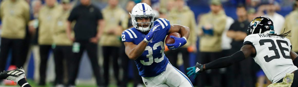 Indianapolis Colts RB Jonathan Williams