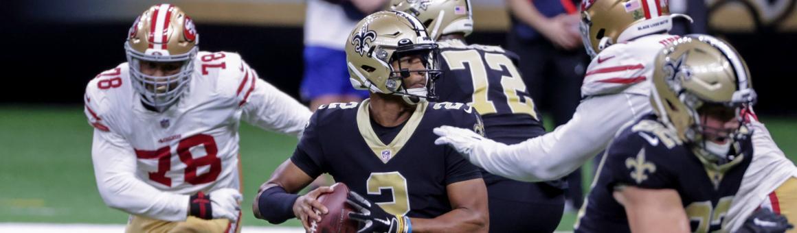 New Orleans Saints QB Jameis Winston