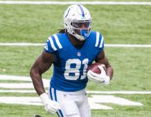 Indianapolis Colts TE Mo Alie-Cox