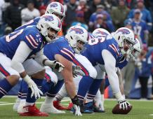 Buffalo Bills offensive line