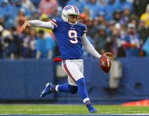 Buffalo Bills P Corey Bojorquez