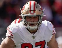 San Francisco 49ers ER Nick Bosa