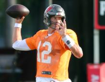 Tampa Bay Buccaneers QB Tom Brady