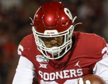 Oklahoma Sooners RB Kennedy Brooks