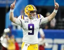 LSU Tigers QB Joe Burrow