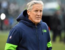 Seattle Seahawks head coach Pete Carroll