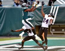 Philadelphia Eagles WR Travis Fulgham