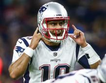 New England Patriots QB Jimmy Garoppolo