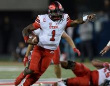 Utah Utes QB Tyler Huntley