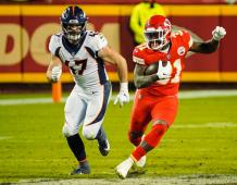 Denver Broncos LB Josey Jewell