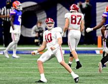 Alabama Crimson Tide QB Mac Jones