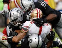 Any Given Sunday: Raiders Over 49ers
