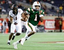 Miami Hurricanes QB D'Eriq King