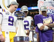 LSU players