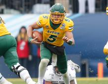 North Dakota State Bison QB Trey Lance