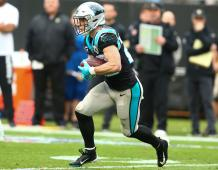 Carolina Panthers RB Christian McCaffrey