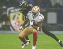 San Francisco 49ers RB Raheem Mostert
