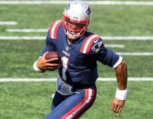 New England Patriots QB Cam Newton