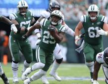 New York Jets RB Bilal Powell