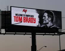 Tom Brady sign