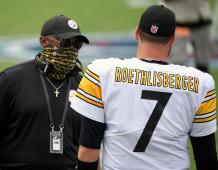 Pittsburgh Steelers HC Mike Tomlin and QB Ben Roethlisberger